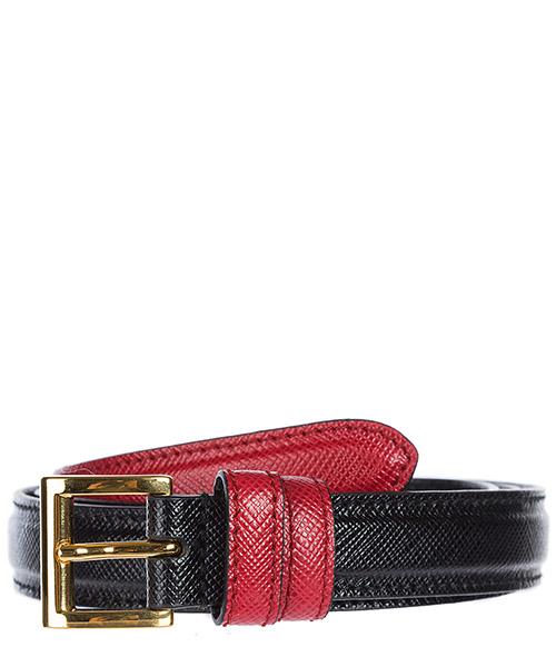 Cintura vita alta Prada 1C5987 2FAF D9A nero