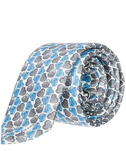 Corbata Prada UCR51WZ8013 azzurro