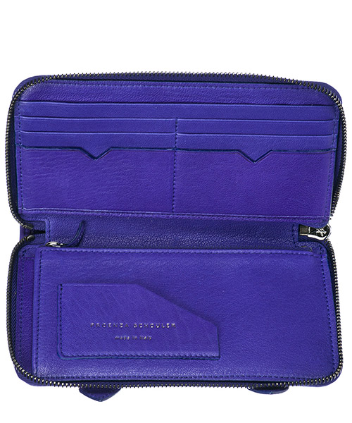 Women's wallet coin case holder purse card bifold secondary image