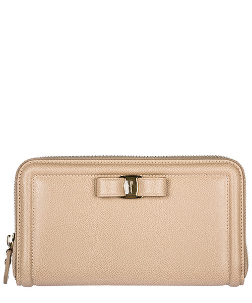 Billetera Salvatore Ferragamo 22C908673737 beige