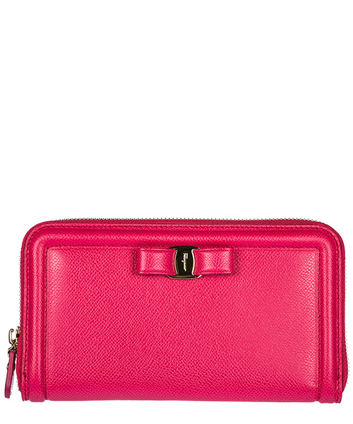 Billetera Salvatore Ferragamo 22C908683401 fucsia
