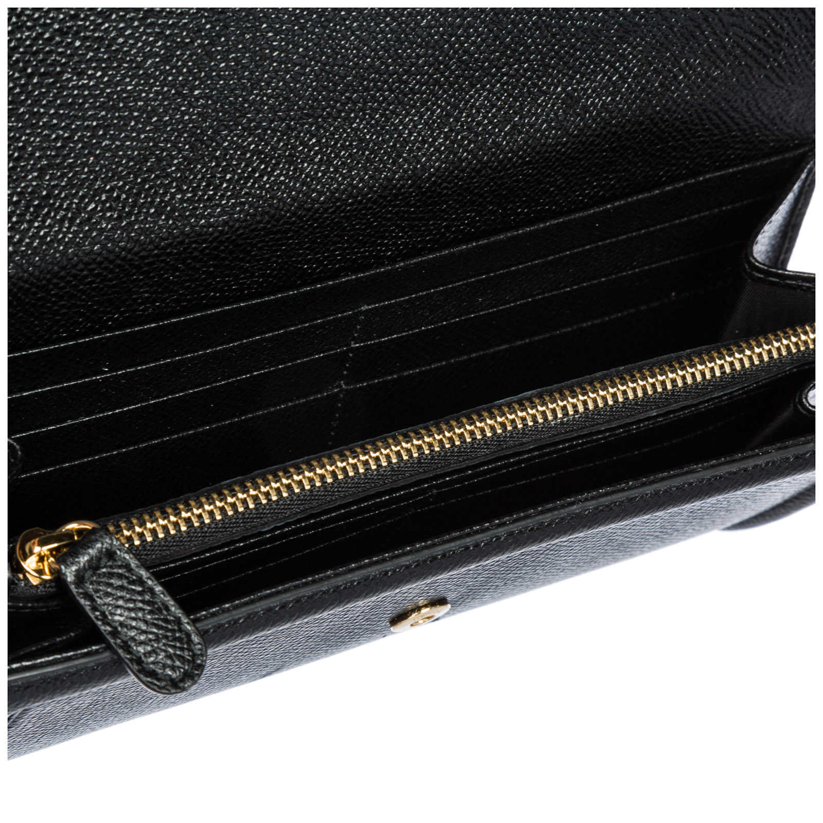 ... Women s wallet genuine leather coin case holder purse card bifold  continental bow vara ... 7970adfcdb442