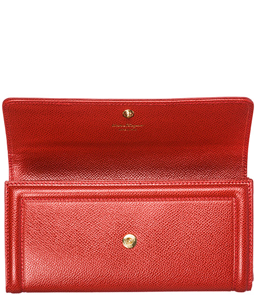Women's wallet genuine leather coin case holder purse card bifold continental fiocco vara secondary image