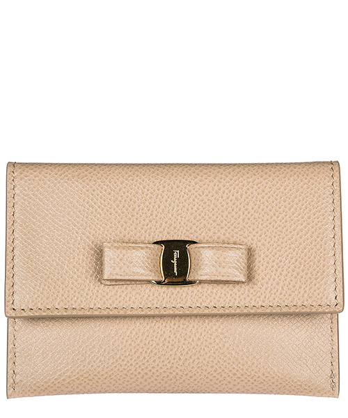 Credit card holder Salvatore Ferragamo 22D155683533 beige