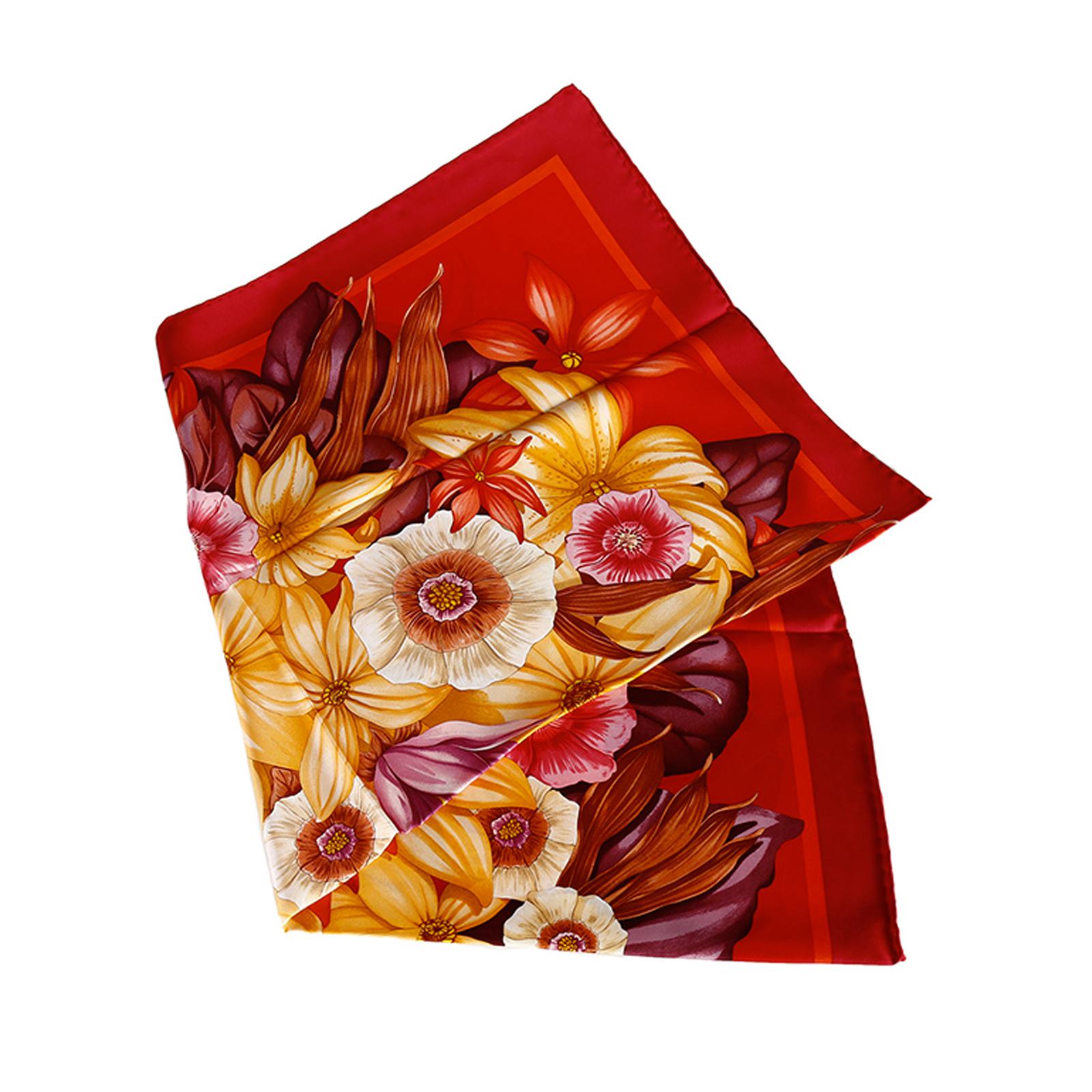 платок женский шелковый
