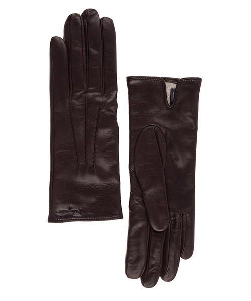 Gloves Salvatore Ferragamo 360633676378 marrone