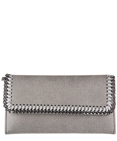 Billetera Stella Mccartney 430999 W9132 1220 grigio