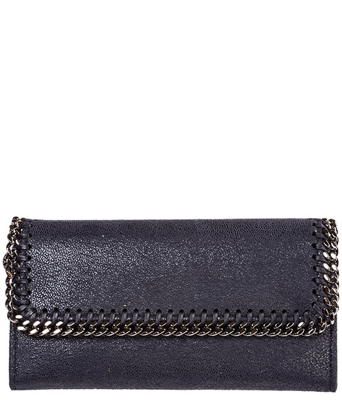Geldbörse Stella Mccartney continental falabella 430999w91324061 midnight