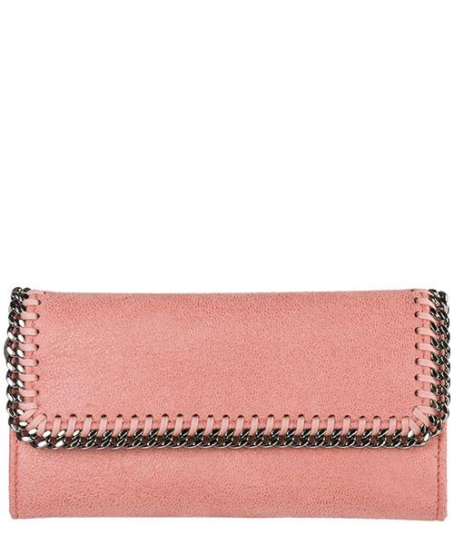 Portafoglio Stella Mccartney Continental Falabella 430999W91326553 rosa