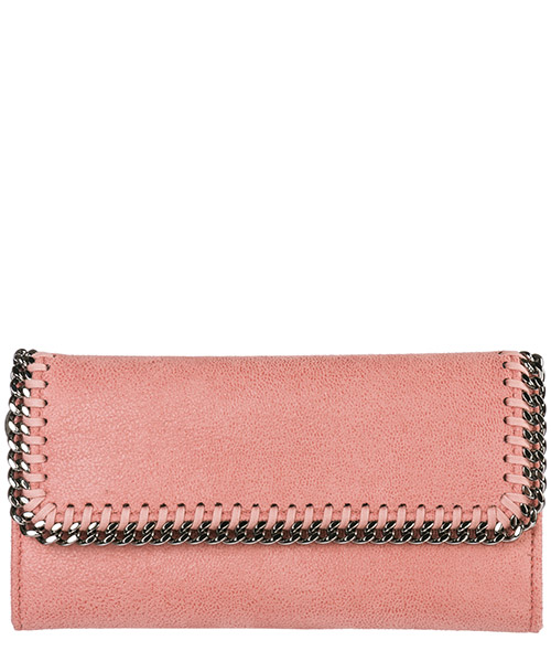 Wallet Stella Mccartney Continental Falabella 430999W91326553 rosa