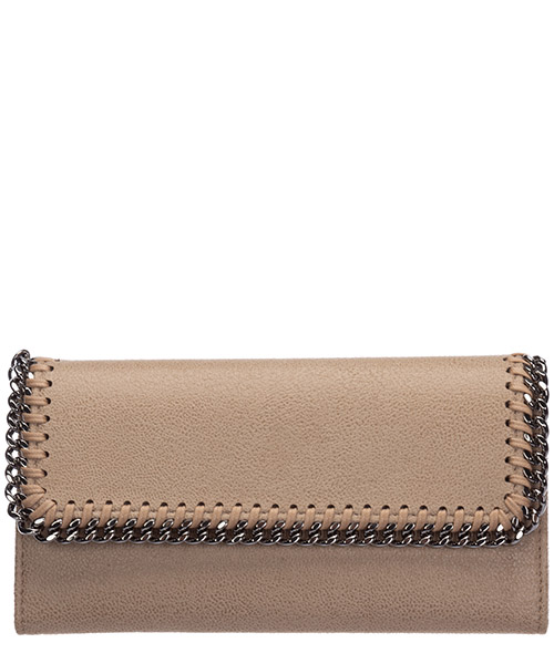 Monedero Stella Mccartney continental falabella 430999W91329300 beige