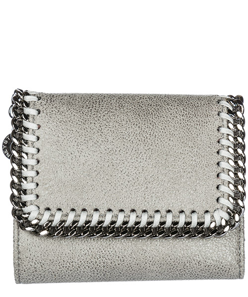 Geldbörse Stella Mccartney Falabella 431000W91321220 light grey