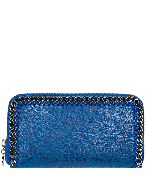 Billetera Stella Mccartney Continental Falabella 434750W91324040 blu