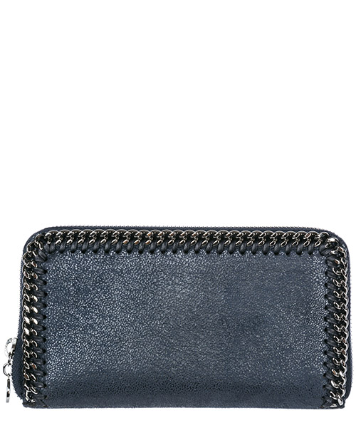 Monedero Stella Mccartney Continental Falabella 434750W91324061 blu
