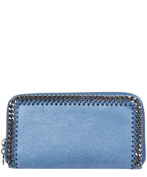 Geldbörse Stella Mccartney continental falabella 434750w91324111 azzurro