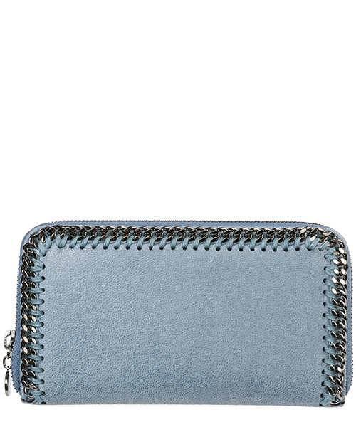 Billetera Stella Mccartney Continental Falabella 434750W91324760 azzurro