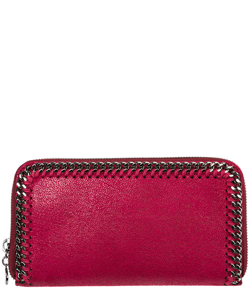 Monedero  Stella Mccartney Continental Falabella 434750W91325620 fucsia