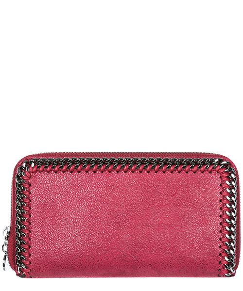 Monedero  Stella Mccartney Continental Falabella 434750W91326201 bordeaux