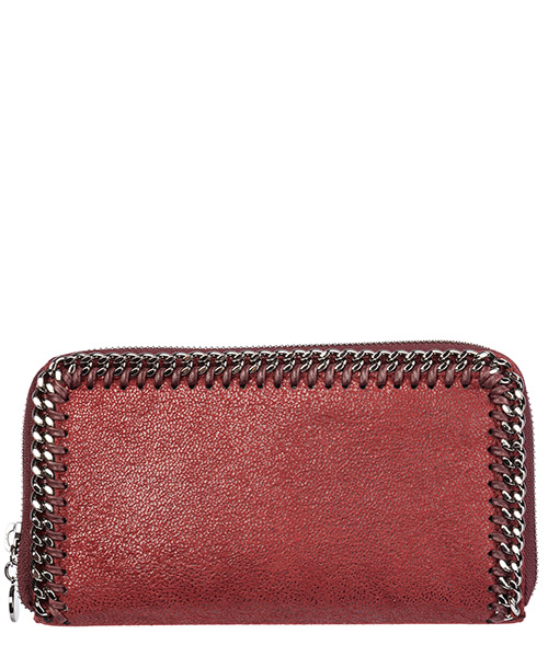 Portefeuille Stella Mccartney continental falabella 434750w91326261 bordeaux