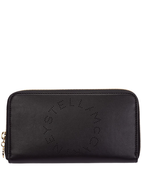 Monedero Stella Mccartney logo 502893W85421000 nero