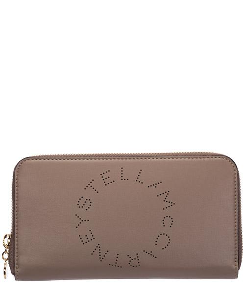 Monedero Stella Mccartney logo 502893W85422800 marrone