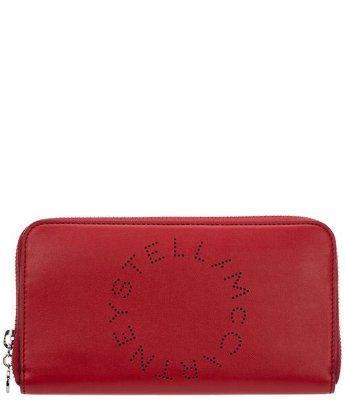 Wallet Stella Mccartney logo 502893W85426506 rosso