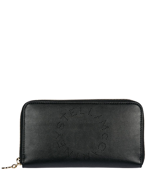 Monedero  Stella Mccartney Stella logo 502893W99231000 nero