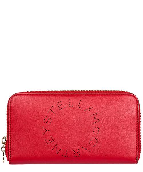 Wallet Stella Mccartney 502893W99236568 rosso intenso