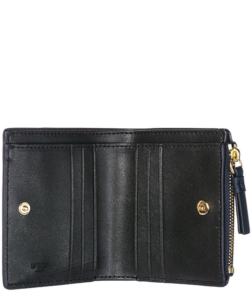 Women's genuine leather wallet credit card bifold  robinson secondary image