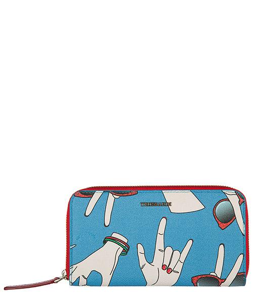 Wallet Trussardi 76P098G blu