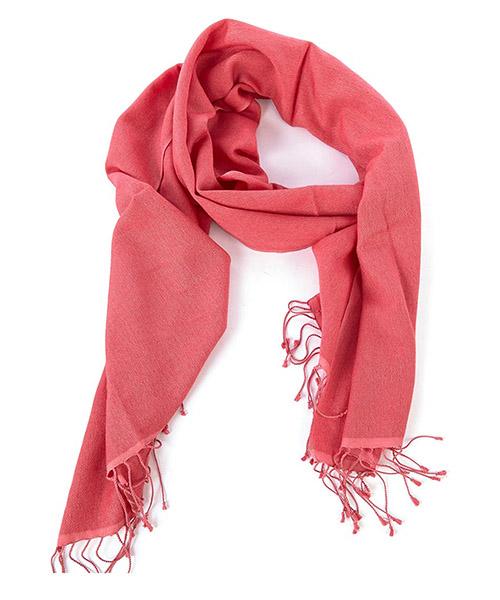 шарф-пашмина женский красный secondary image