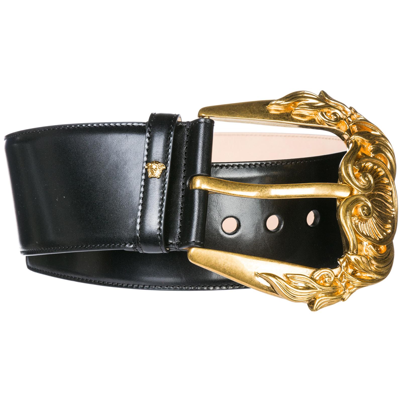 15735fd017 Women'S Genuine Leather Belt Tribute in Black