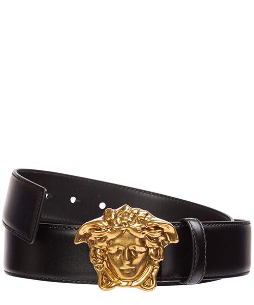 Cintura Versace palazzo dcu4140-dvtp1_k41ot nero
