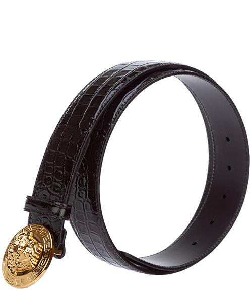 Men's genuine leather belt  palazzo secondary image