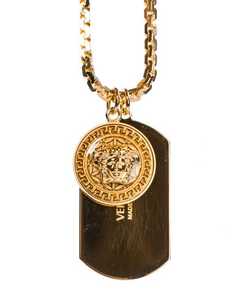 Necklace Versace Medusa DG14698-DJMS_D41O nero