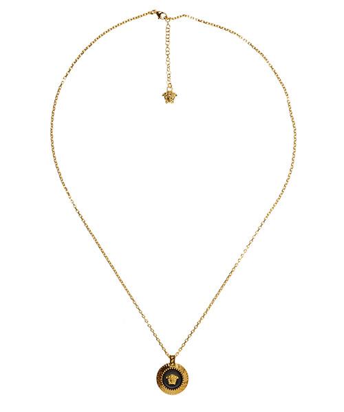 Men's necklace  authentic  enamel medusa secondary image