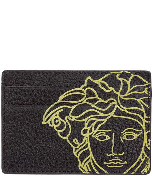 Credit card holder Versace Pop Medusa DPN2467-DVTG4M_DNZ5H nero
