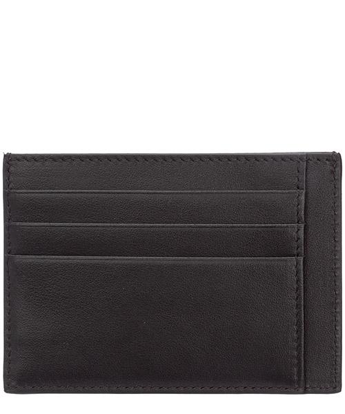 Men's genuine leather credit card case holder wallet medusa secondary image