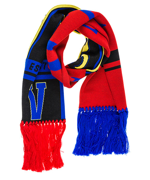 Wool scarf Versace ISC2001IK0197I493 rosso
