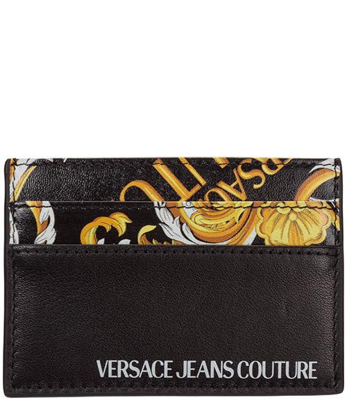 Credit card holder Versace Jeans Couture baroque EE3YZAPC7-E71596_EM27 nero
