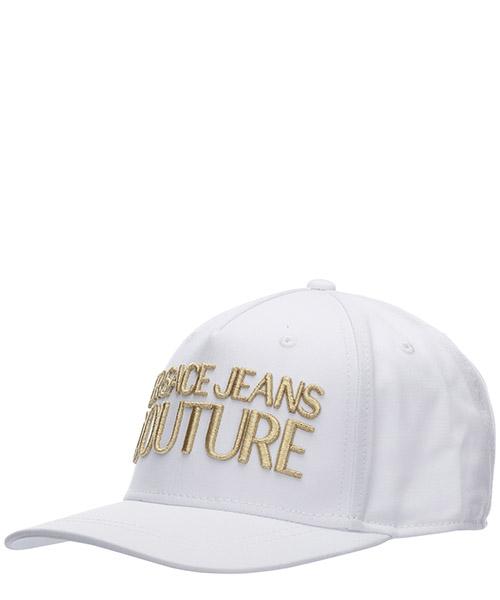 Cap Versace Jeans Couture logo ee8yvbk04-e65021_e003 bianco