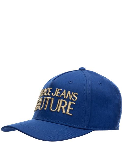 Baseball cap Versace Jeans Couture logo EE8YVBK04-E65021_E242 blu
