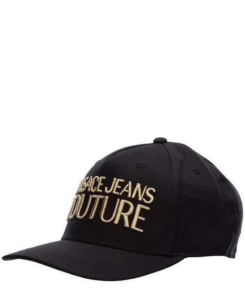 Baseball cap Versace Jeans Couture logo EE8YVBK04-E65021_E899 nero