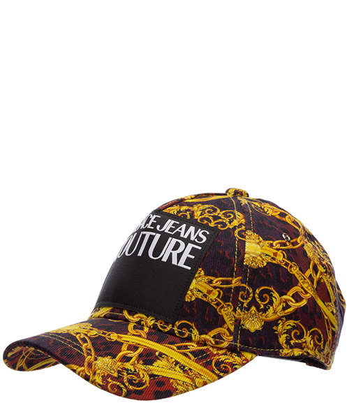 Baseball cap Versace Jeans Couture leo chain EE8YVBK05-ES0653_E537 rosso