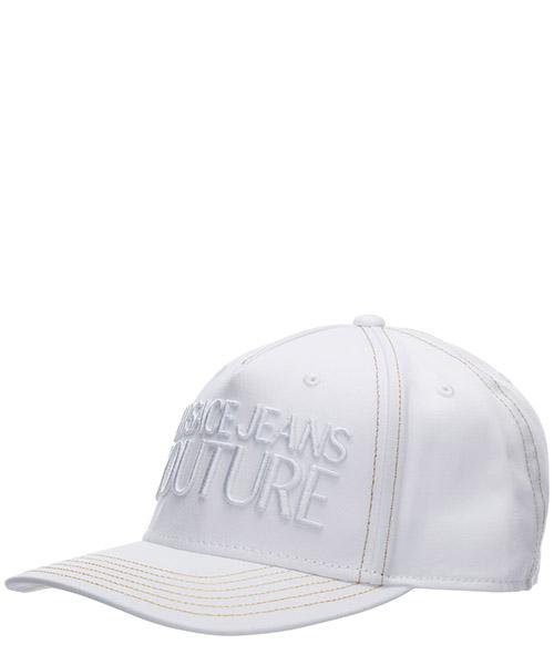 Cap Versace Jeans Couture logo ee8yvbk13-e65021_e003 bianco
