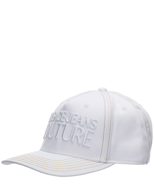 Baseball cap Versace Jeans Couture logo EE8YVBK13-E65021_E003 bianco