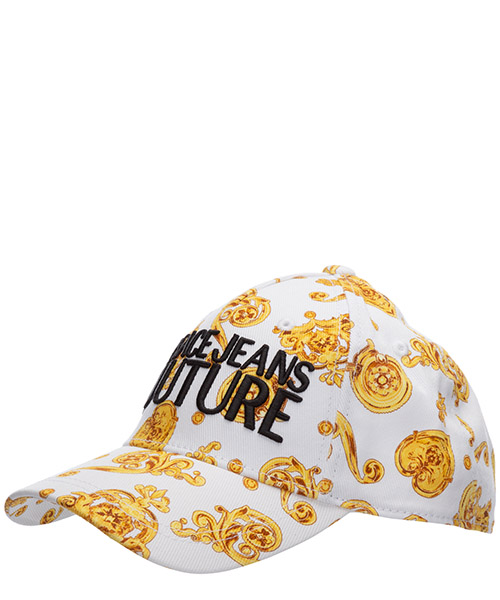 Cap Versace Jeans Couture leo chain ee8yvbk15-es0686_e003 bianco