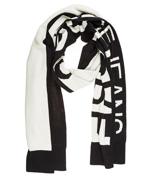 Шерстяной шарф Versace Jeans Couture EEBGUAH20-E50320_EL01 nero