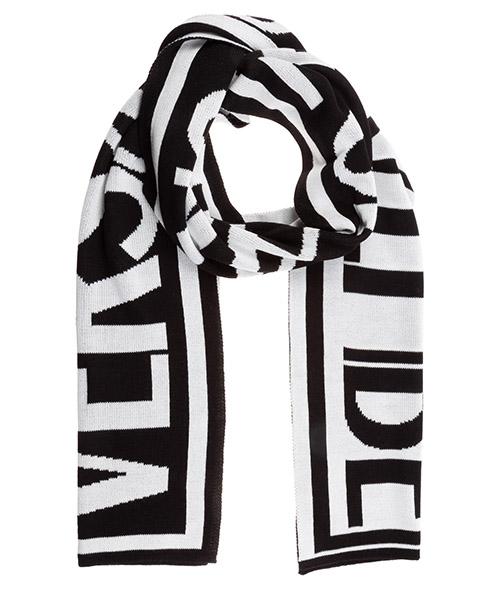 Scarf Versace Jeans Couture EEBYZBH50-E80082_EMI9 nero