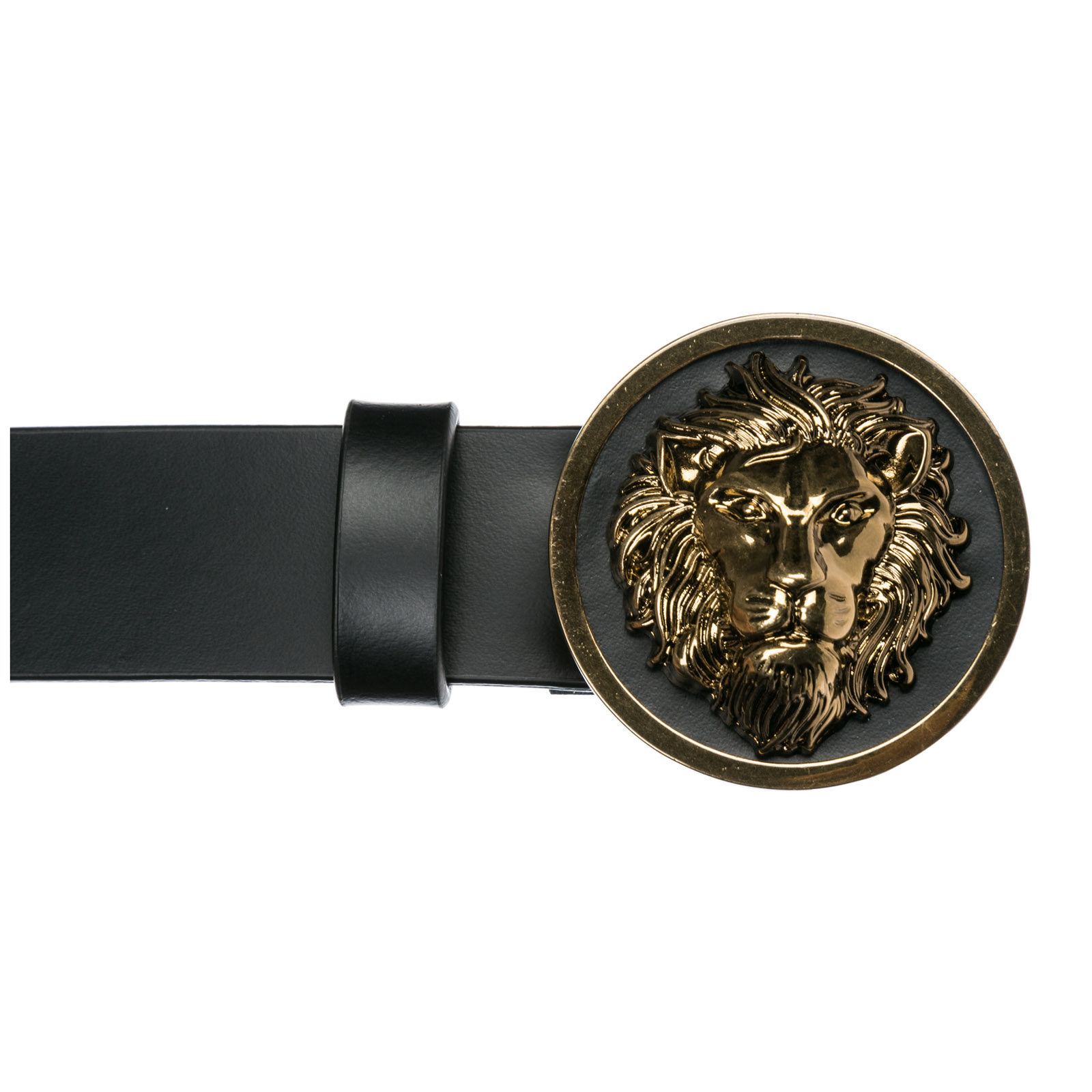 94edd3b265b Belt Versus Versace Lion Head FCD0088-FCUO F460E black   gold ...